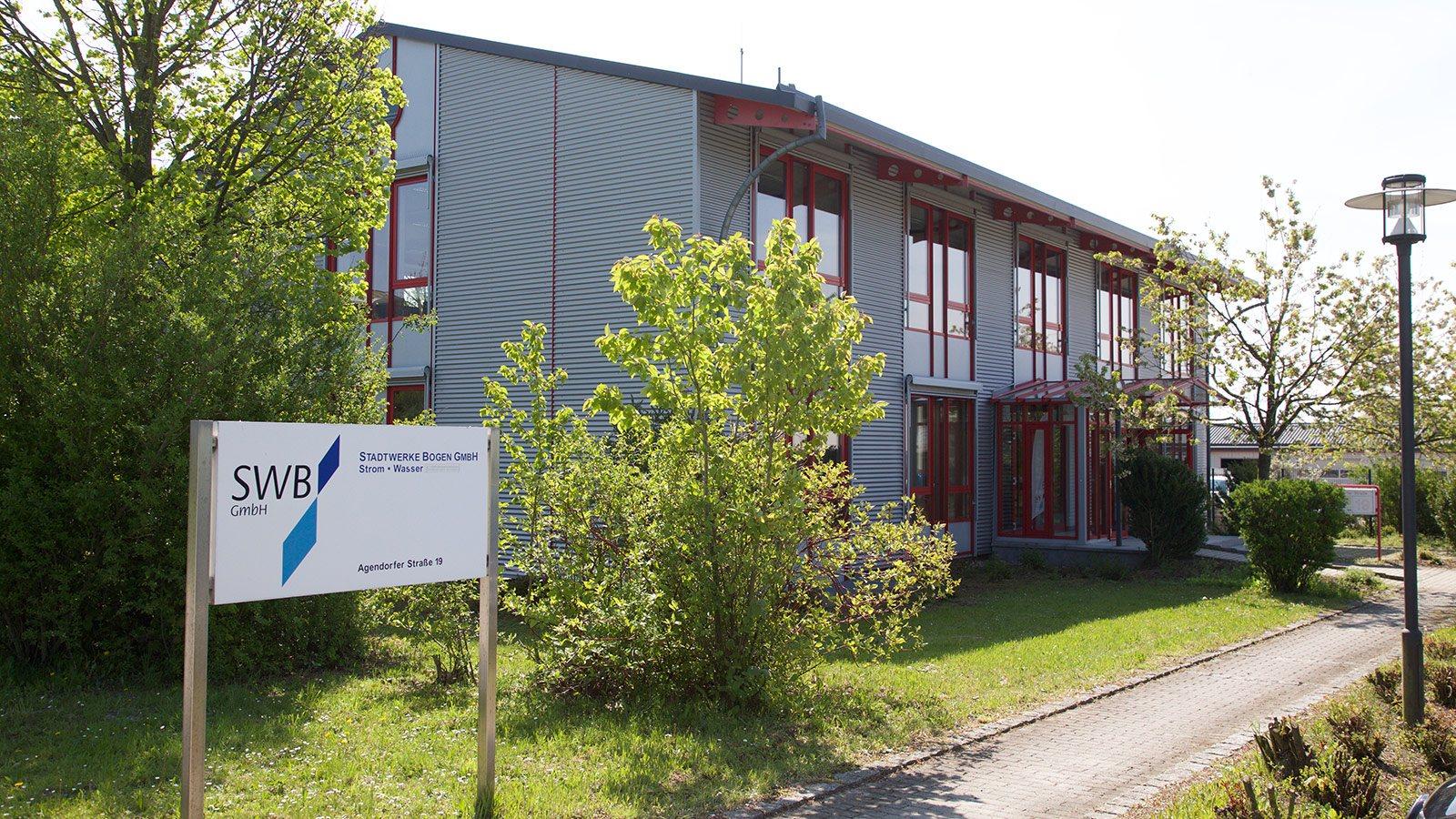 Bürogebäude der Stadtwerke Bogen