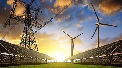 Windräder zur Stromerzeugung